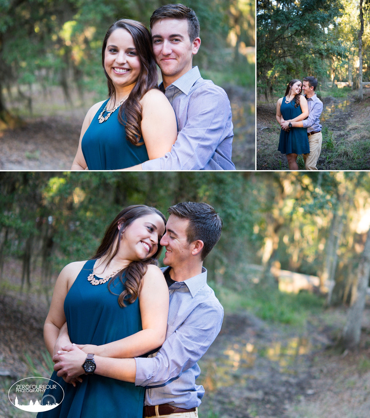 Engagement Photoshoot at Fontainebleau State Park in Mandeville, Louisiana